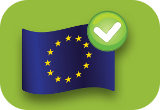 EU logo check mark