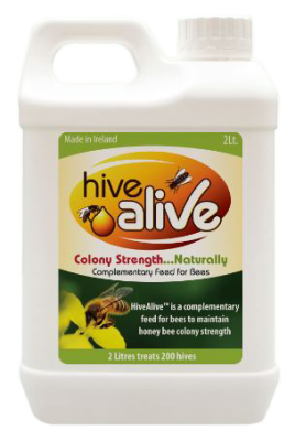 2 litres of HiveAlive™ activates up to 800 litres of syrup.