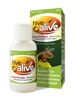 100ml of HiveAlive™ activates 40 litres of syrup.
